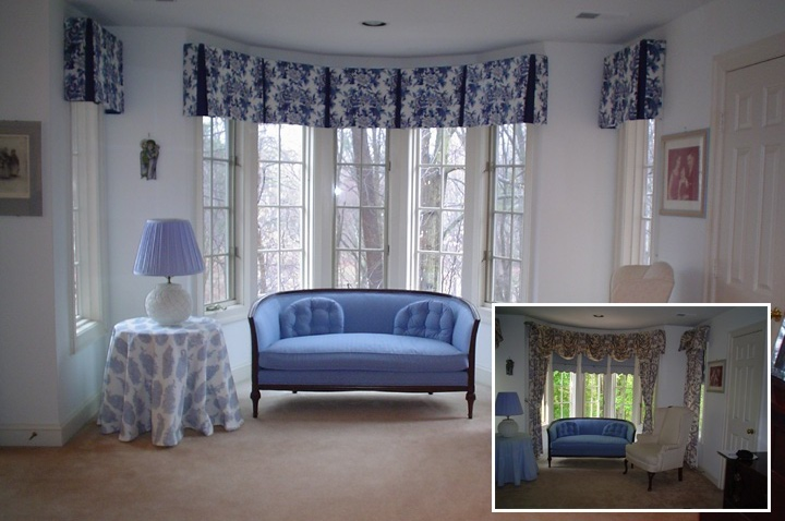 Stunning Concept Of Drapes For Bay Window HomesFeed Stunning Ideas For Bay Windows In A Living Room Concept
