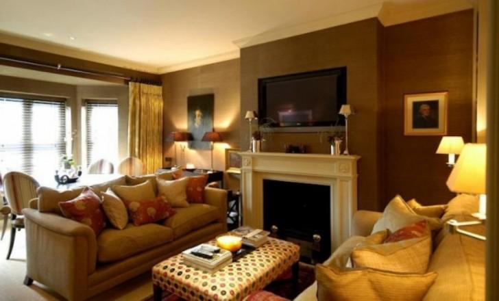 Creative Nice Romantic Warm Apartment Living Room Decoration