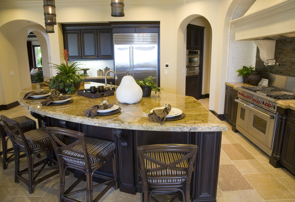 The Curved Kitchen Island: The Great Combinations between the ...