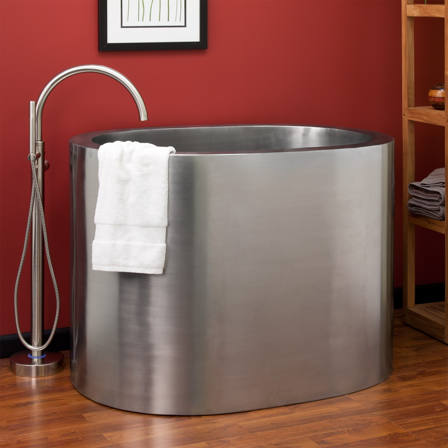 Japanese Style Soaking Tub Give Asian Accent To Your Bathroom HomesFeed
