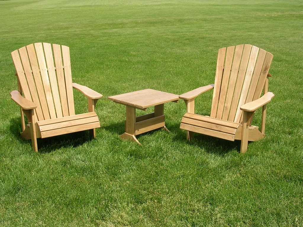 Dream Natural Wooden Lawn Chair