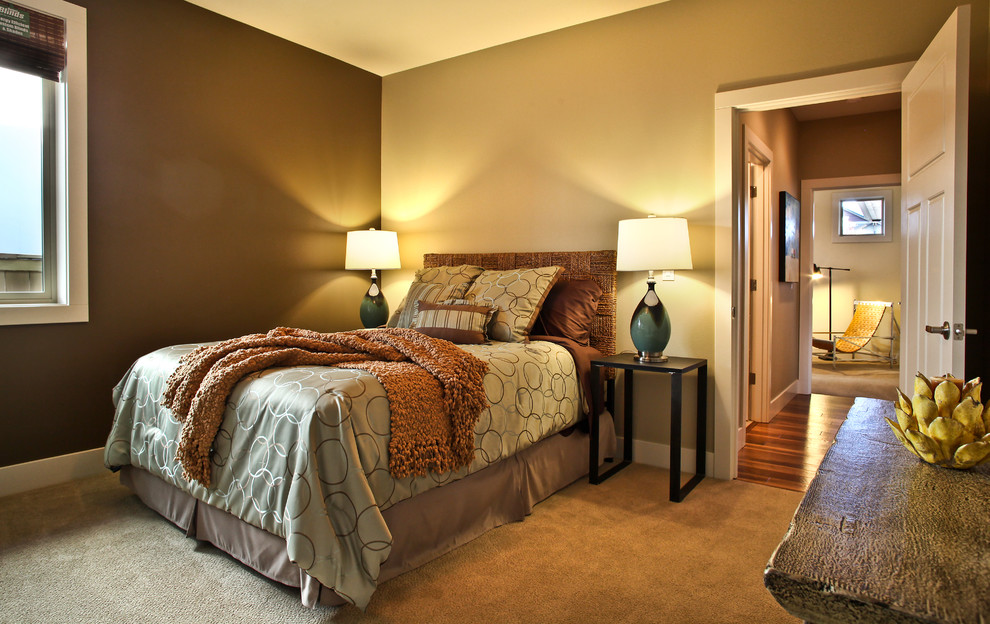 Earth tone paint colors for interior homesfeed for Bedroom ideas earth tones
