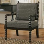 elegant black spool chairs