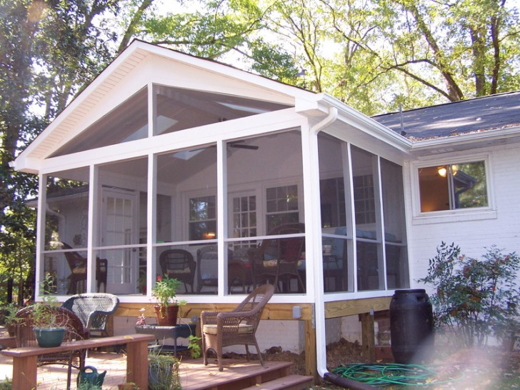 Best Screened Porch : The best screened porch design for typical home homesfeed