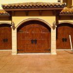fancinating garage door costco with solid hard wood material plus good door panel combined with tile floor