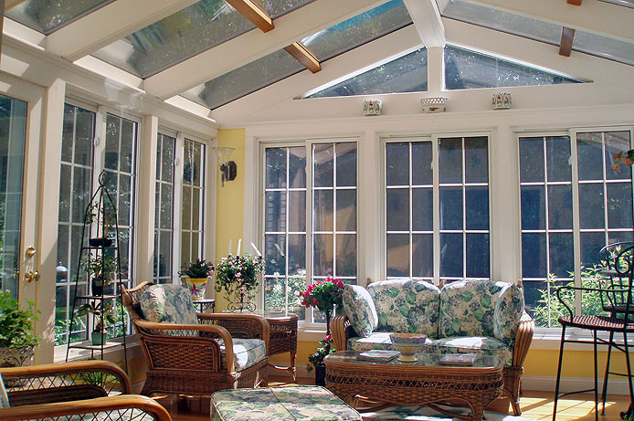 3 seasons room ideas to welcome every month with ease for Large windows for sunroom