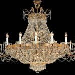 full crystal pendant chandelier
