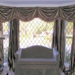 glamorous window treatments dallas with silver grat curtain and drapery in living room with gray sofa plus pretty stand lamp