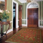 great-nice-cool-classic-arabian-old-fashioned-entryway-rug-with-herati-red-soft-design-large-size-with-classic-flooring-design