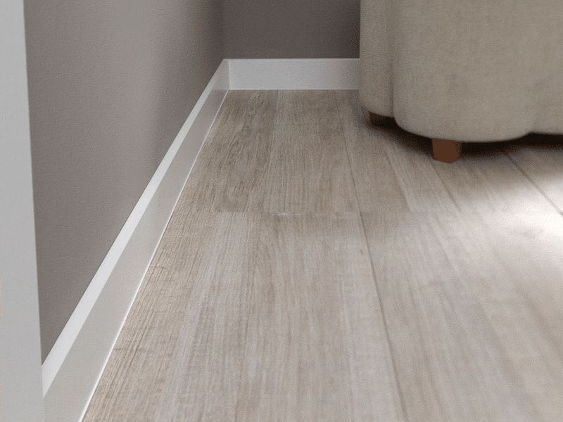 Modern baseboards types homesfeed Modern floor molding