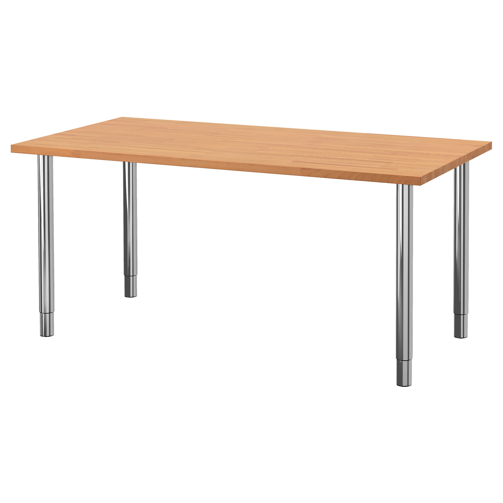 Stylish desk table tops for modern and interesting home for Metal desk with wood top