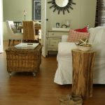 tree stump side table west elm