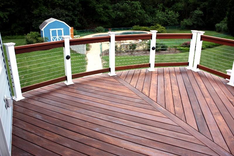 Horizontal Deck Railing The Advantages And Disadvantages