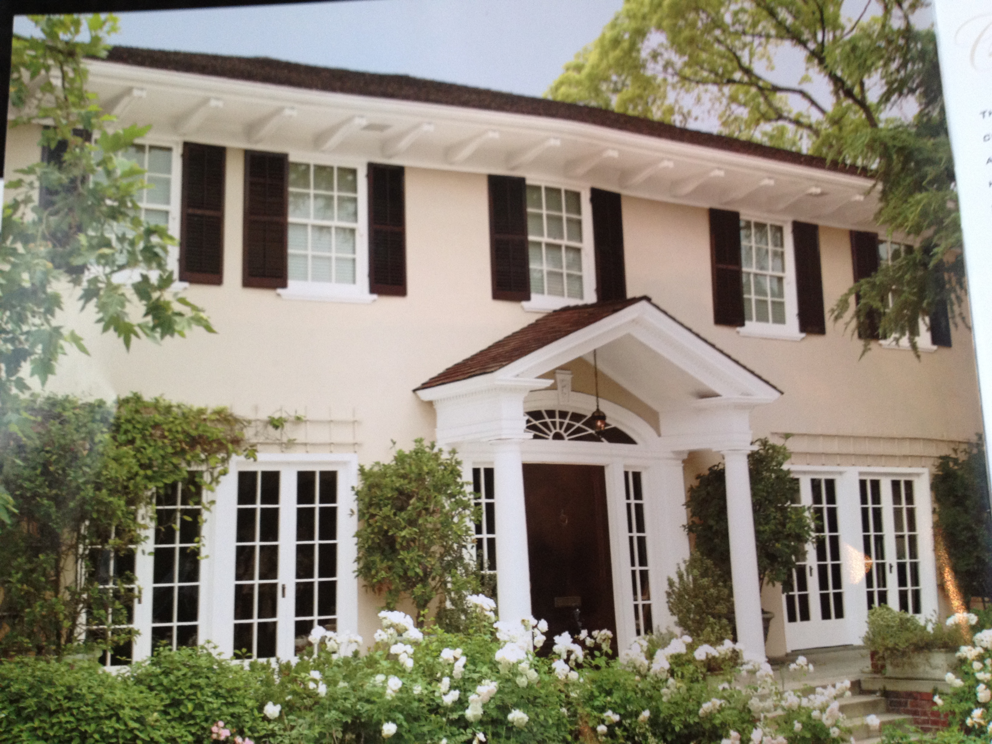 Wooden Exterior Shutters Personalised Home Design
