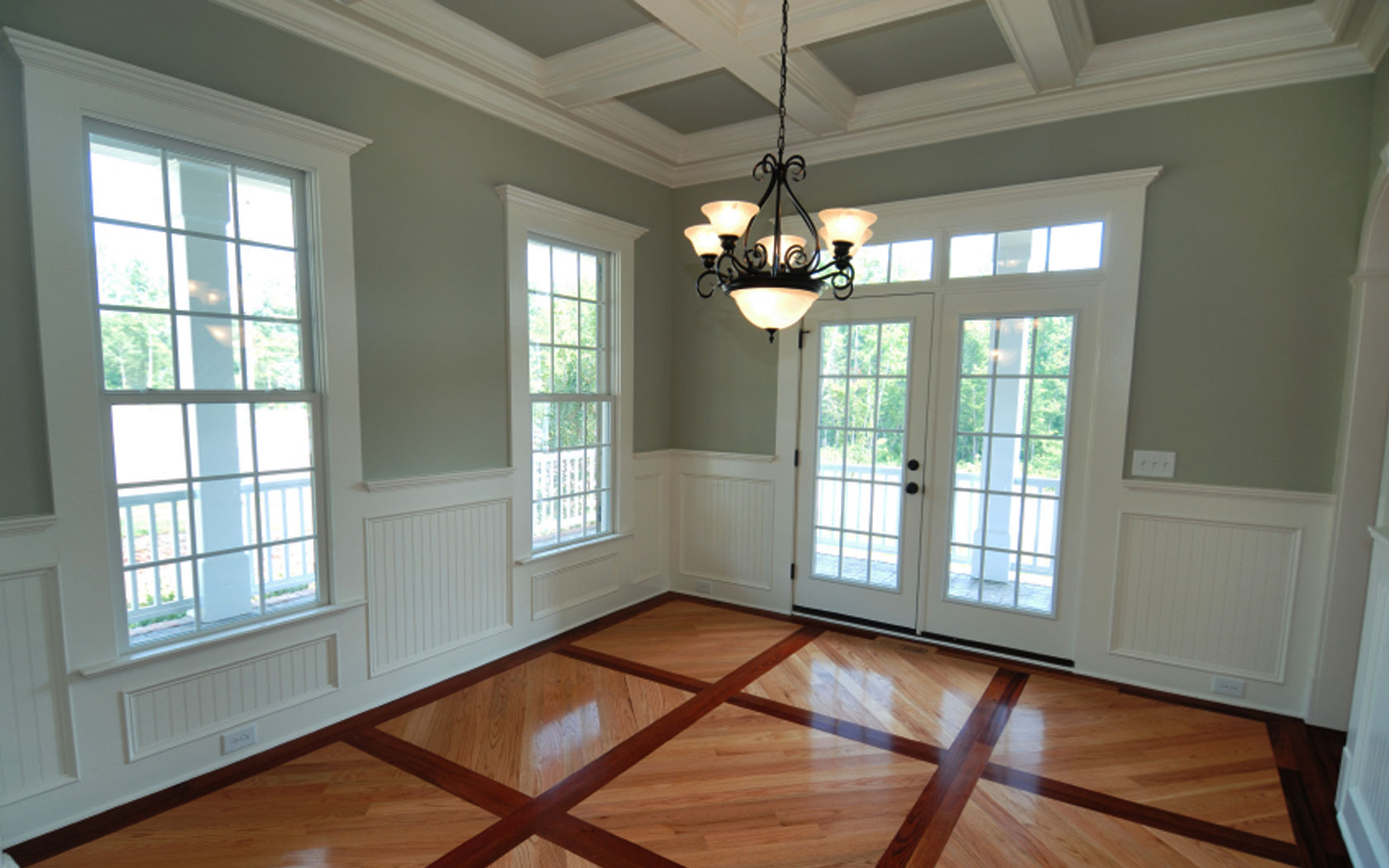 Interior Exterior Painting In Boston With Pretty Wooden Laminating Floir Plus Windows Together Gl