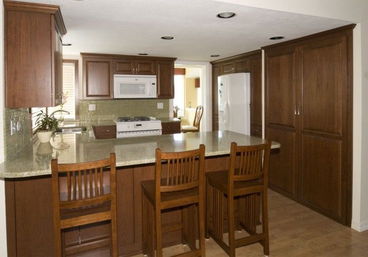 Favorite choice of inexpensive countertop design homesfeed for Inexpensive wood kitchen cabinets