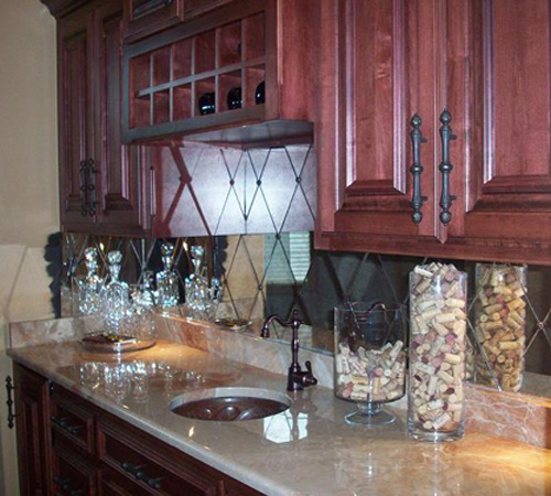 antique mirror backsplash new inspiration to create an antique accent