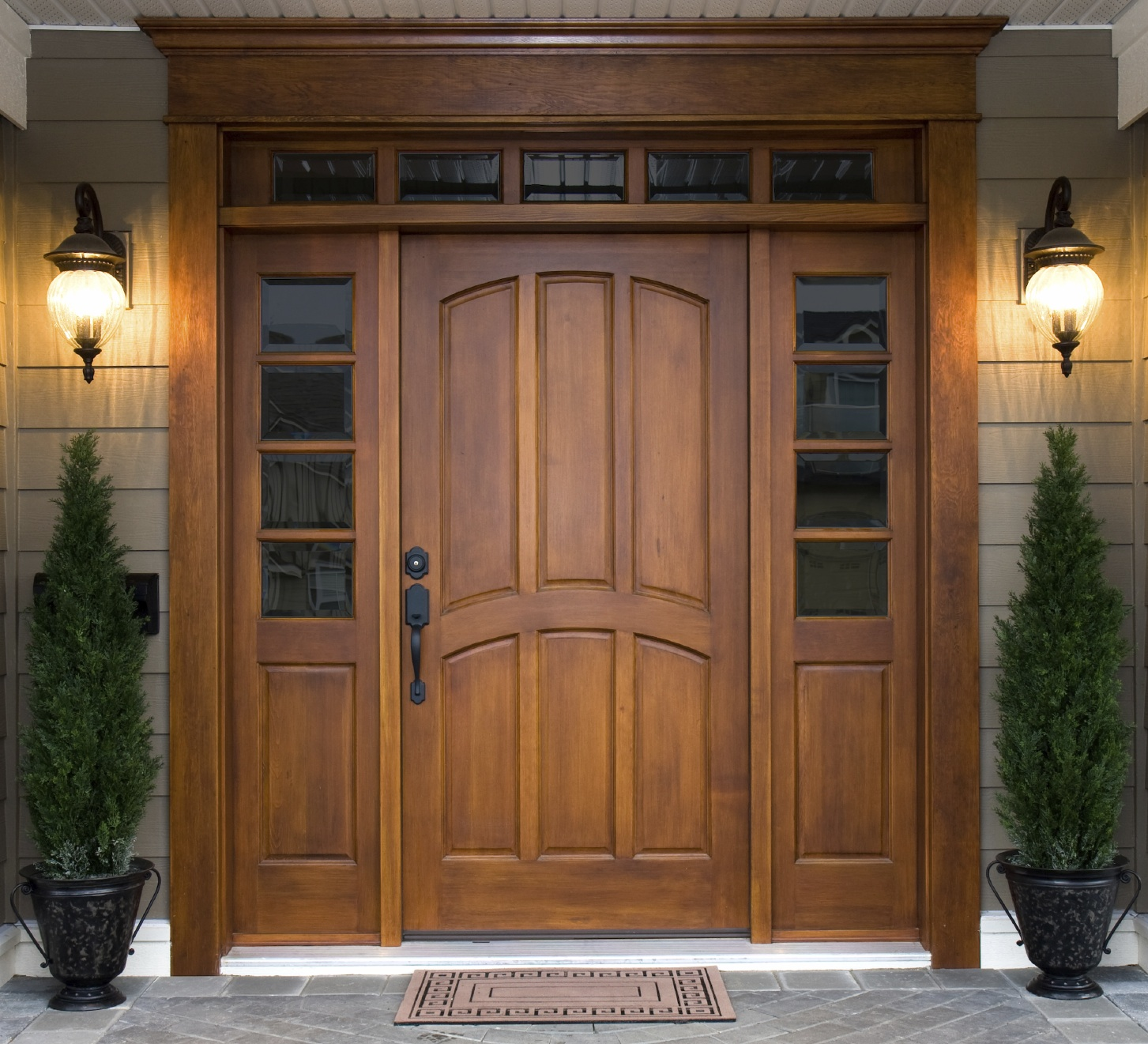 Rayn Properties Architectural Images. Sophisticated Front Door Design With  Bar ...