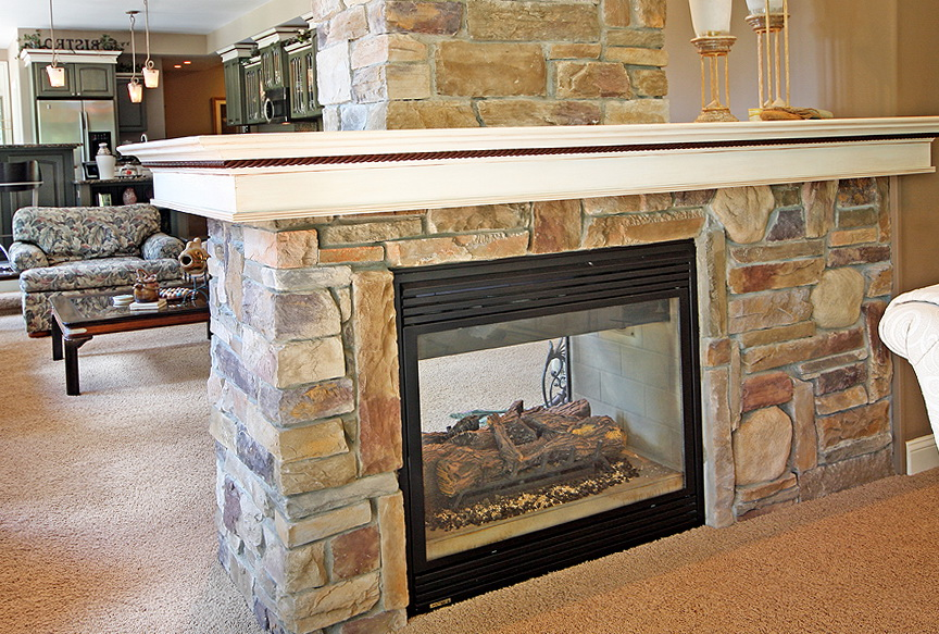 Two Way Fireplace The Benefits Homesfeed