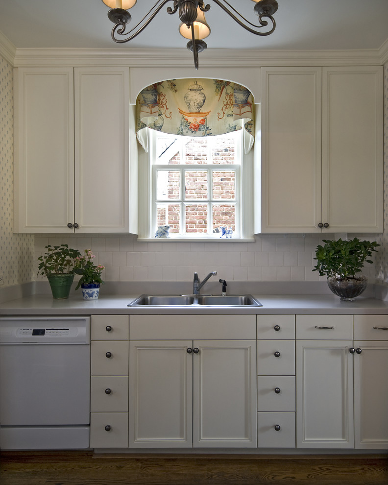 Wood Valance Over Kitchen Sink: Window Treatments For Small Windows In Kitchen