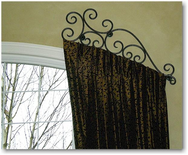 Half Window Curtain Rods