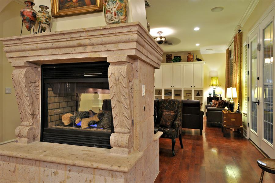 up custom marsh two options to cozy mf s sided way fireplace double wood fireplaces stove gas