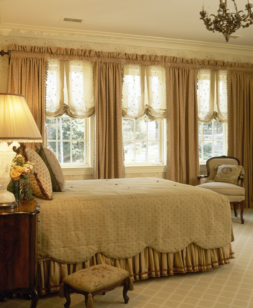 Inspiring window treatments in nyc for amazing window for Window valances for bedroom