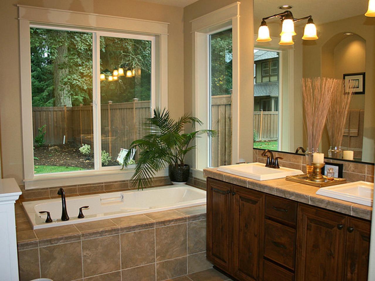transform your ordinary bathroom to a luxury bathroom with a