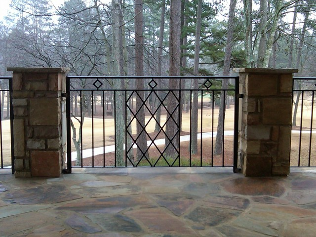 Rod Iron Railing for Interior and Exterior Decorations   HomesFeed
