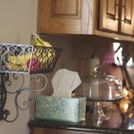 metal wire wall mounted basket for fresh fruits
