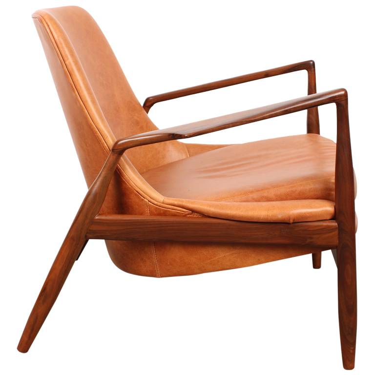 Mid century modern furniture homesfeed for Mid century modern leather chairs