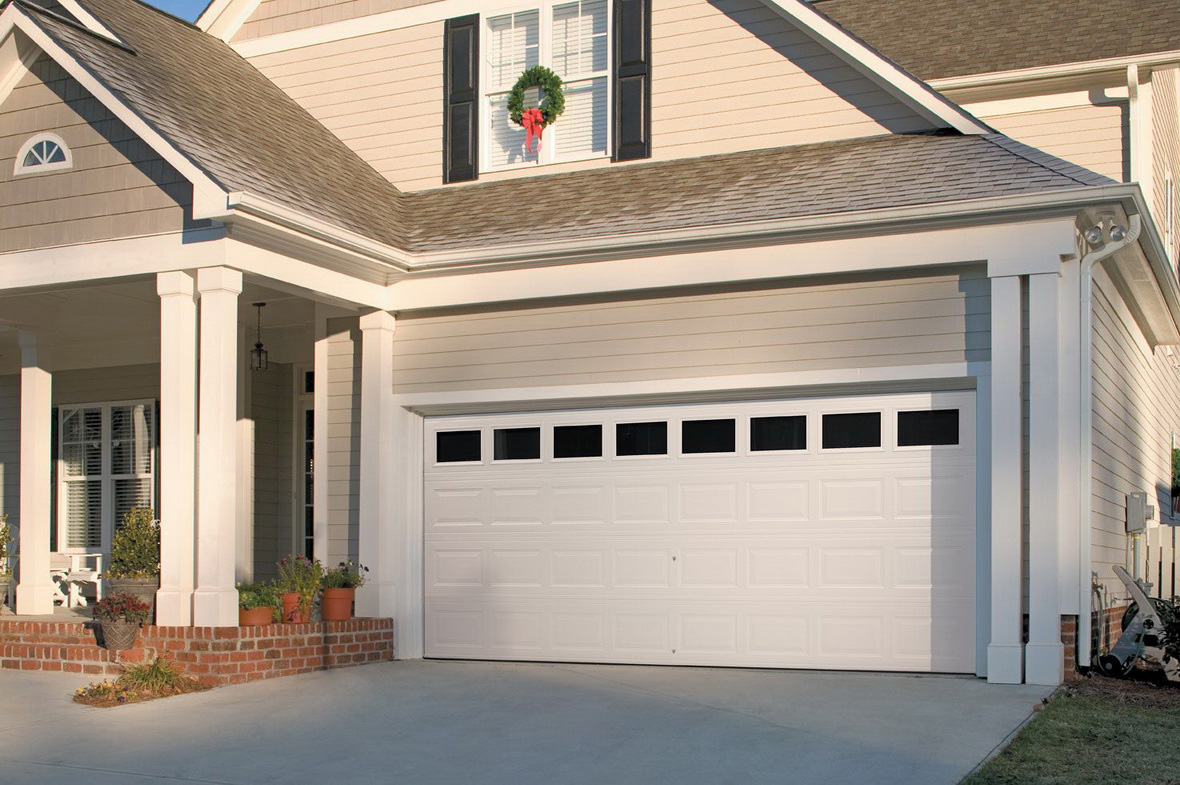 Impressive mid century modern garage doors the perfect for House on top of garage