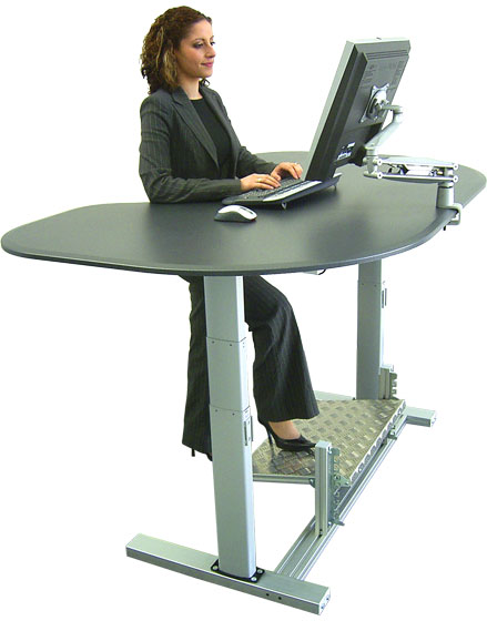 Various Adorable Standing Desk for Computer Set HomesFeed