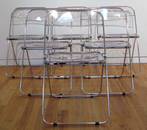 Genial Modern Nice Adorable Lucite Folding Chair With Clear