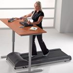 modern-nice-classic-brown-coolest-standing-desk-with-treadmill-concept-with-two-legs-for-working-white-excercising