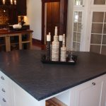 natural black soapstone for kitchen island with storage