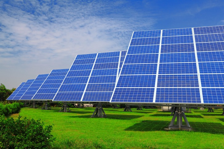 Awesome large scale solar panels installation homesfeed for Solar panel blueprint
