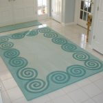 nice-green-decoration-stylish-and-coolest-entryway-rugs-green-white-tile-flooring-decor-awesome-entryway-rugs-with-various-functions-and-interesting-shapes-with-white-floor-tiles