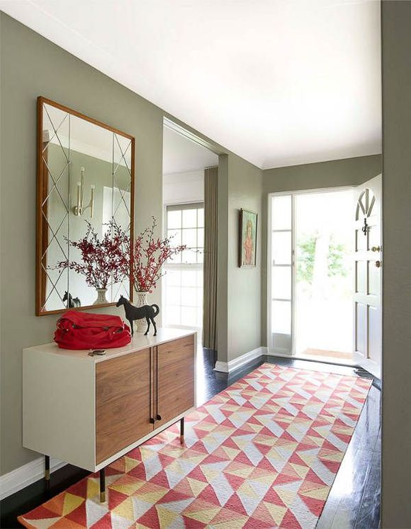 Contemporary Foyer Rugs : Elegant entryway rugs design for your home decoration