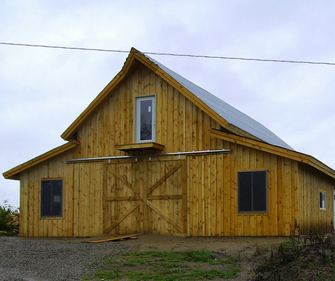 Pole Barn House Designs The Escape From Popular Modern House Style Homesfeed