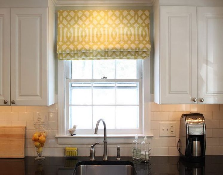 pull down window curtain in yellow for window kitchen deep sink and faucet kitchen cabinets electric