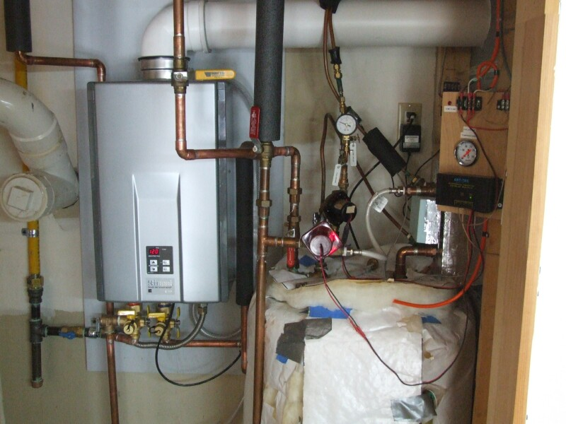 Charming Hot Water Boiler Installation Piping Photos