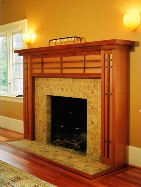 Craftsman Fireplace Mantel Ideas