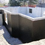 Sealer Waterproofing Basement In Home Foundation Exterior Concrete Wall