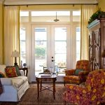 simple and cheap window treatments nyc with soft curtains for living room with loveseat and chair combined with fancy table with rug underneath