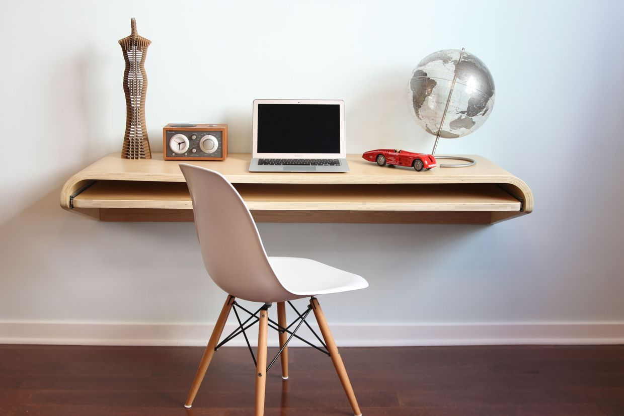 Floating Desk IKEA: Best Space Saver for Workspace | HomesFeed