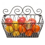Simple Wire Basket For Fruits