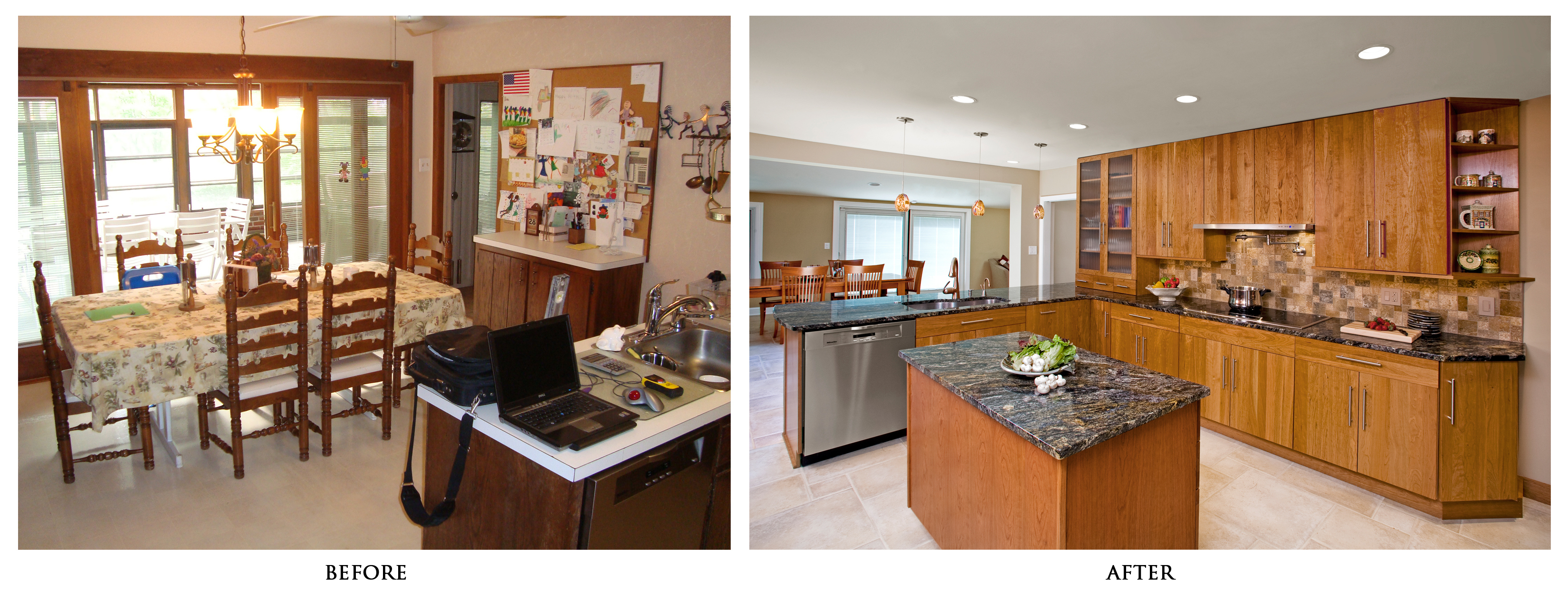 Small Kitchen Remodel Before And After For Stunning