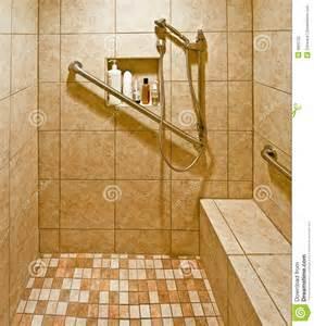 a handicap accessible bathroom opens limitation into