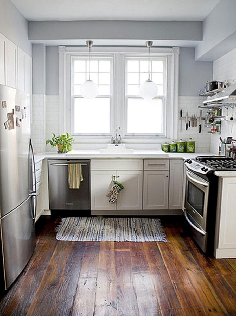 Mid Century Modern Kitchen Cabinet Shows Elegant Transition From ...